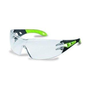 Uvex pheos 9192 HCAF schwarz grün Arbeitsschutzbrille Rasentrimmen